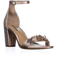 I35 Kacee2 Ankle Strap Sandals, Beige - 8 us