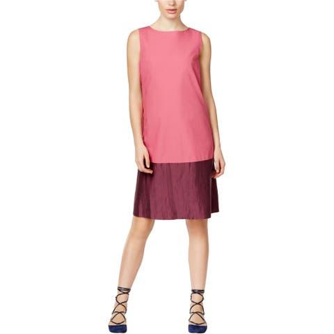 MaxMara Womens Temide Shift Dress, pink, 2