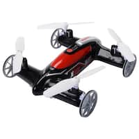 Syma X9S 2.4G 4CH 6-Axis RC Flying Car Remote Control Quadcopter 3D Land Sky - Black