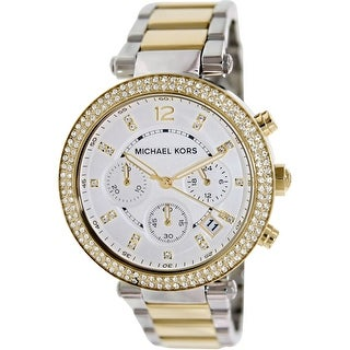 Michael Kors Women\u0027s Parker MK5626 Silver Stainless-Steel Quartz Fashion  Watch