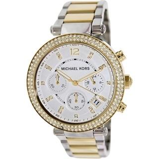 Michael Kors Women\u0027s Parker MK5626 Silver Stainless-Steel Quartz Fashion  Watch