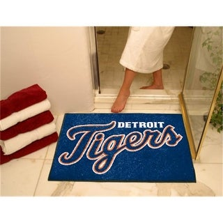 FANMATS 6378 Detroit Tigers All-Star Rugs 34 in. x 45 in.