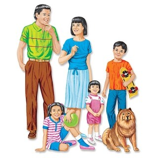 Asian Family Flannelboard Set