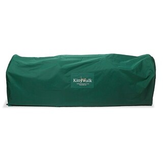 """Kittywalk Outdoor Protective Cover for Kittywalk Lawn Version Green 120"""" x 18"""" x 24"""""""