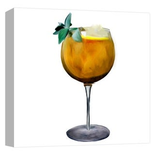 """PTM Images 9-124684  PTM Canvas Collection 12"""" x 12"""" - """"Refreshing Drink"""" Giclee Liquor & Cocktails Art Print on Canvas"""