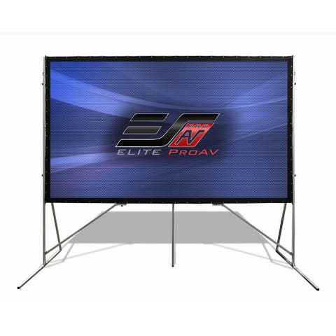 """Elite Screens OMS150H-PRO 150"""" Yard Master Pro Outdoor Projector Screen - White"""