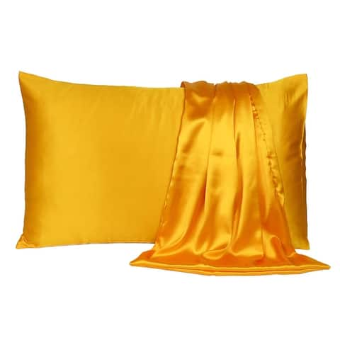 Oussum Sweet Dreams Silky Satin Pillow Case Soft Luxury Pillow Cover