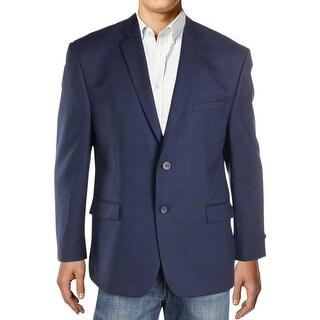 Marc New York Mens Two-Button Blazer Woven Plaid - 44s