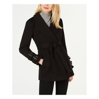 INC Womens Black Coat  Size L