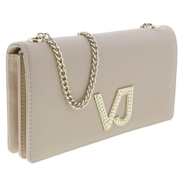 Versace EE3VRBPC3 Beige Wallet on Chain - 7.5-4.5-1