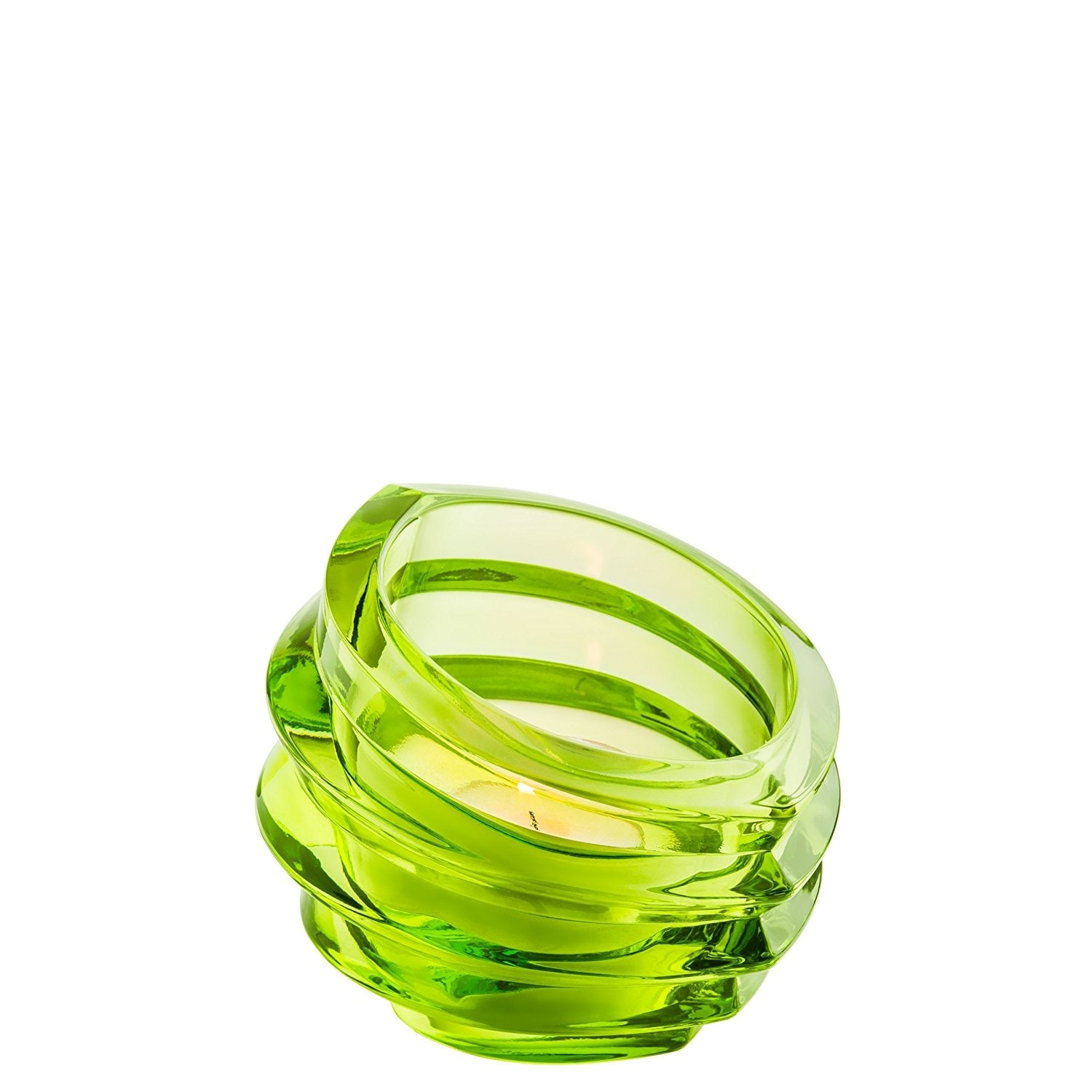 3 Pack Orrefors Eko Crystal Votive Glass Tealight Candleholder Green Candy Dish Candles Boitaloc Candle Holders Accessories
