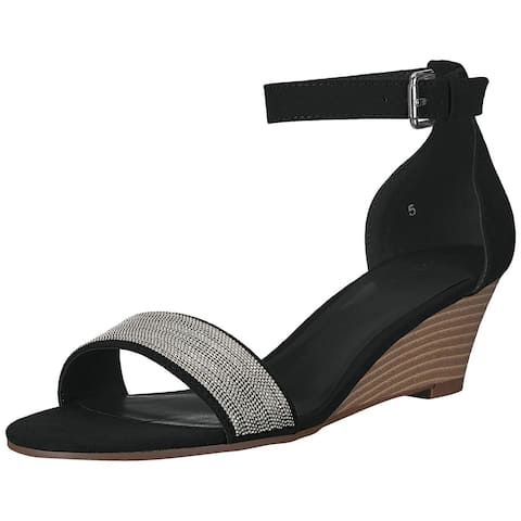 b0f101d83 Athena Alexander Womens Enfield Open Toe Casual Ankle Strap Sandals