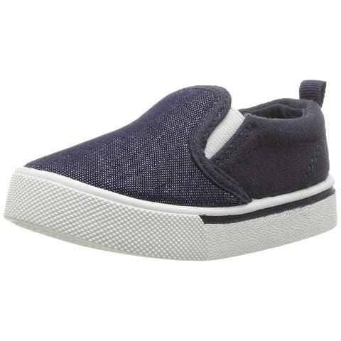 OshKosh B'Gosh Baby Boy OF181510 Fabric Slip On Sneakers
