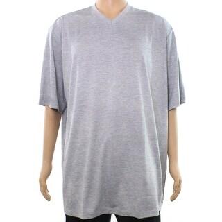 Alfani Mens Big & Tall V Neck Short Sleeve T-Shirt