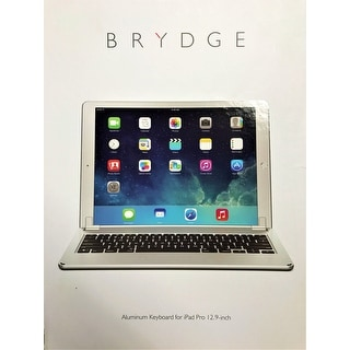 Brydge 12.9 Bluetooth Keyboard for 12.9-inch iPad Pro – Silver
