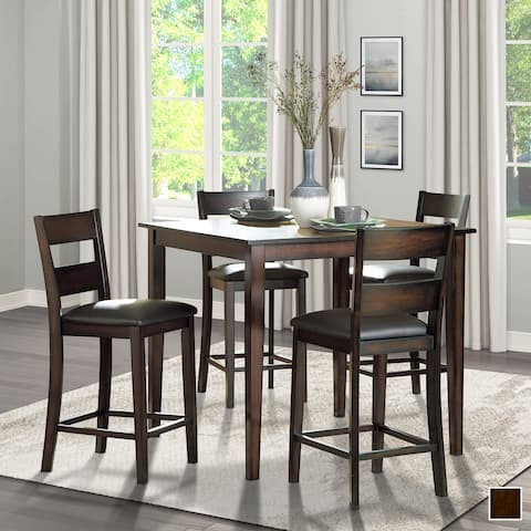 Pell 5-Piece Counter Height Dining Set