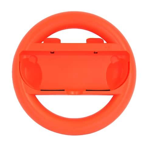 Nintendo Switch Wireless Steering Wheel - Red
