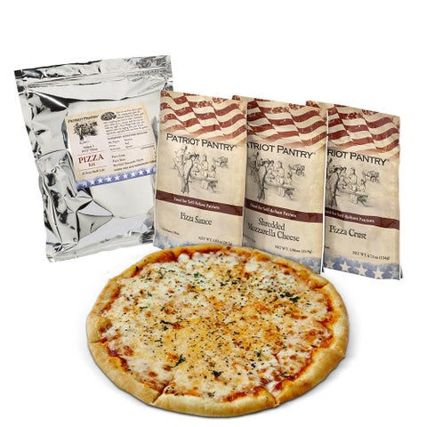 Patriot Pantry Single Pizza Making Survival Emergency Food Kit