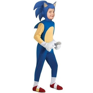 Rubies Sonic the Hedgehog Deluxe Child Costume - Blue