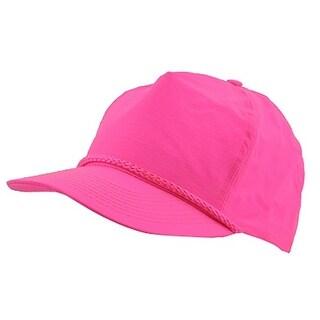 Nylon Crinkle Golf Cap - Neon Pink - Neon Pink
