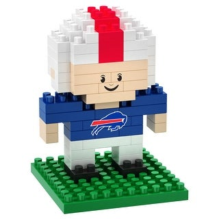 Buffalo Bills 3D NFL BRXLZ Bricks Puzzle Player