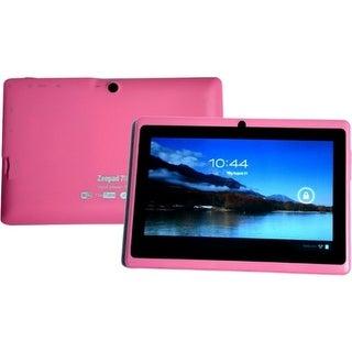 "Zeepad WFG7DRK003PNK Zeepad 7DRK 4 GB Tablet - 7"" - Wireless LAN - Rockchip Cortex A9 RK3026 Dual-core (2 Core) 1.50 GHz -"