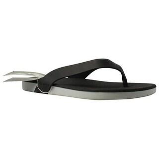 Rider Womens Rxthong White/Black Flip Flops Size 11