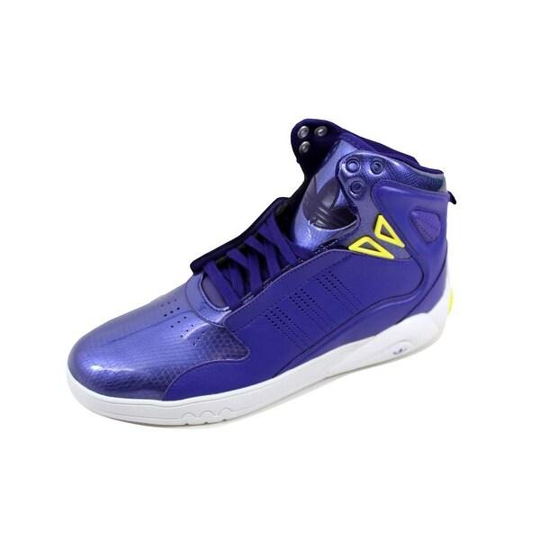Adidas Men's Roundhouse Mid 2.0 Purple/Yellow-White G48507
