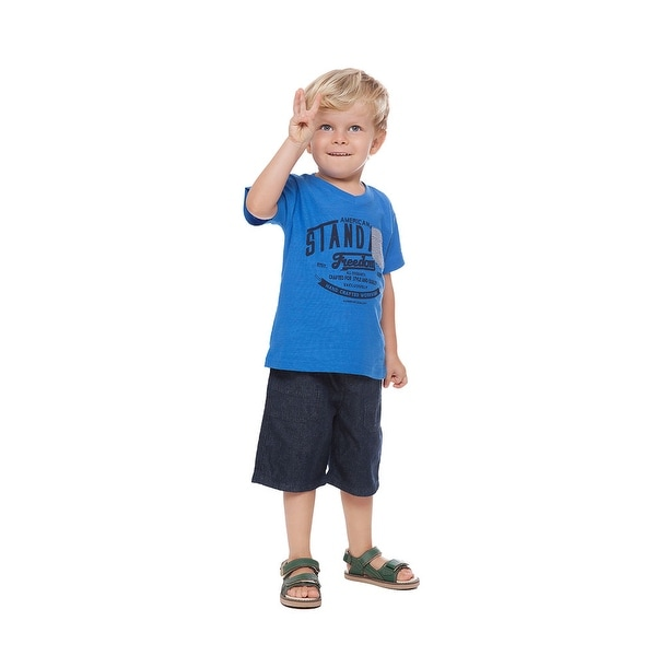 c23af9792105 Shop Toddler Boy Graphic T-Shirt Little Boys Short Sleeve V-Neck ...