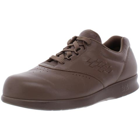 SAS Womens Free Time Sneakers Leather Lace-Up