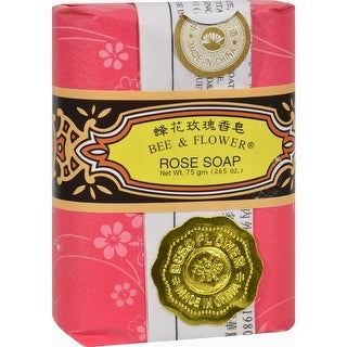 Bee and Flower - Rose Soap ( 24 - 2.65 OZ)