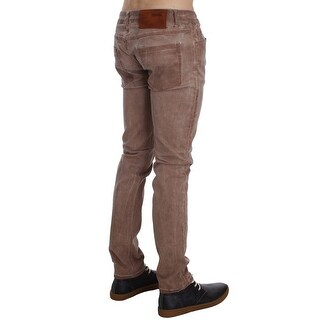 ACHT Pink Wash Cotton Stretch Slim Fit Jeans - w34