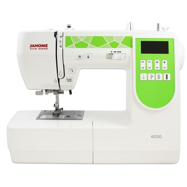 Janome 6050 Computerized Sewing Machine With Exclusive Bonus Bundle