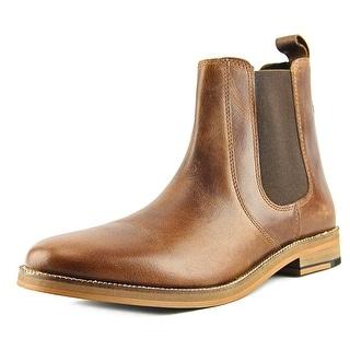 Crevo Denham Men Round Toe Leather Brown Boot