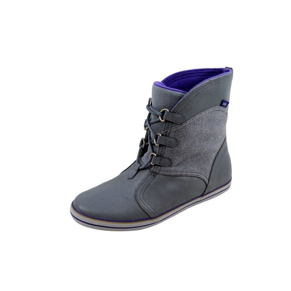 Nike Women's Carico Mid Leather Cool Grey/Court Purple-Anthracite-Wolf Grey 530910-051