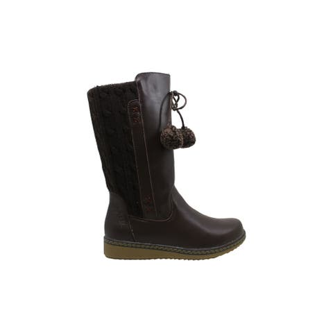 Spring Step Women's Shoes Silves Leather Almond Toe Mid-Calf Fashion Boots - 6