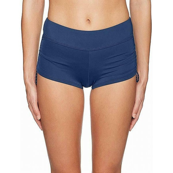 38d463a22f TYR Blue Navy Womens Size Large L 10/12 Della Boy Shorts Swimwear