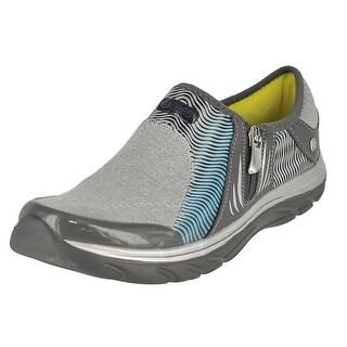 Naturalizer Balance  Womens Fashion Sneaker - light grey/gradient