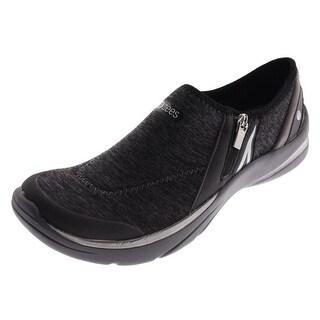 Bzees Womens Lifetime Heathered Athleisure Casual Shoes - 6.5 medium (b,m)