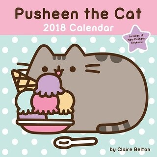 2018 Pusheen the Cat Wall Calendar