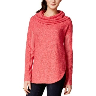 Tommy Hilfiger Womens Sweatshirt French Terry Cowl Neck