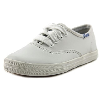 Keds Champion CVO Round Toe Leather Sneakers