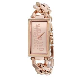 Jean Paul Gaultier Women's Enchainee 8500904 Rose-Tone Dial watch