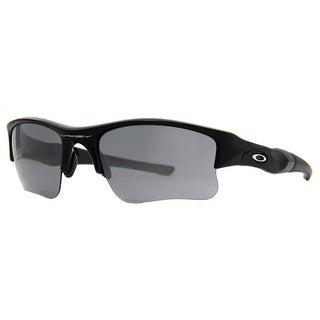 Oakley Flak Jacket XLJ 03-915 Jet Black Iridium Men's Sport Sunglasses - 63mm-20mm-133mm
