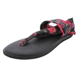Sanuk Girls Yoga Sling Flat Sandals Tween Low Top