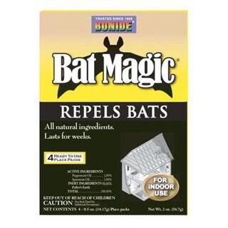 Bonide 876 Magic Bat Repellent, 4 Pack