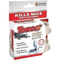 Tomcat 0360710 Press 'N Set Mouse Trap, 2/Pack