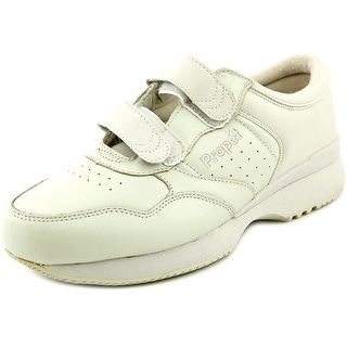 Propet Lifewalker II Men  Round Toe Leather Ivory Walking Shoe