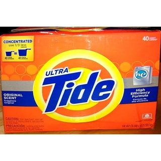 Tide 84981 Laundry Detergent, 56 Oz