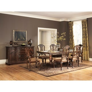 Sunhill Formall Rectangular Dining Room Set, Table with 6 Chairs